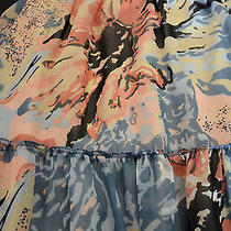 Macy's Pastel Floral Skirt S Photo