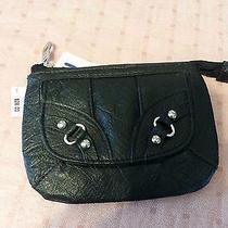 Macy's style&co. Womens Black Zip Id Wallet Photo