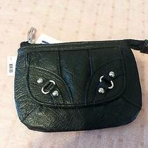 Macy's style&co. Womens Black Zip Id Wallet Photo