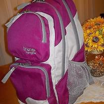 Macy's Trans by Jansport Connection Pink Violet Gray Backpack  Photo