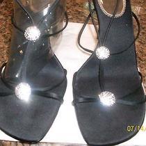 Macy's Valeria Stevens Size 10 - Black Heels Photo