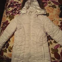 Macy's Xoxo White Jacket Size Medium Photo