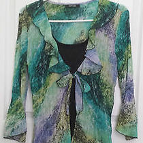 Macys - Style & Co. - Elegant Colorful Top (Size 10) Photo