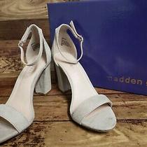 Madden Girl Womens Beella Blush Open Toe Casual Ankle Strap Size 6.0 New Photo