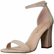 Madden Girl Womens Beella Fabric Open Toe Casual Ankle Strap Blush Size 10.0 Photo