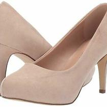 Madden Girl Womens Jelsey Closed Toe Classic Pumps Blush Fabric Size 9.5 Wpmi Photo