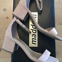 Madden Nyc Isabel Style Block Heel Dress Sandals in Blush.  Size 6.5 Photo