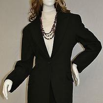 Made for Bvlgari No Chairs Black Professional 2 Pc Jacket Blazer Pant Suit Sz Xl Photo