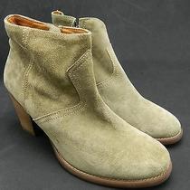 Madewell 188 Suede Zipcode Boots 9 Castle Rock Shoes Beige Brown Photo