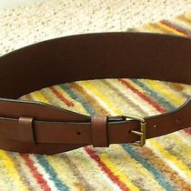 Madewell 1937 Leather Corset Belt S Mint Photo