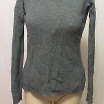 Madewell 1937 Tweed Wool Alpaca Viscose Blend '14 Funnel Neck Tunic Sweater Xs Photo