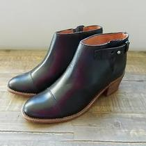 Madewell 198 the Dakota Cut Off Boot 9 New Boots Leather Black B8034 Photo