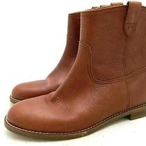 Madewell 198 the Pull on Boots 11 Mahogany Boots Shoes Leather Photo