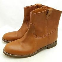 Madewell 218 the Otis Boots 6.5 Soft Mahogany Motorcycle Leather Brown Photo