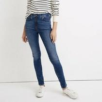 Madewell 9 High Rise Skinny Blue Jeans Photo