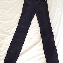 Madewell Alley Straight Jeans Black Sea 25 X 32 Photo