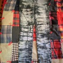 Madewell Black Gray Tiedye Skinny Jeans Size 27 Photo