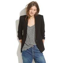 Madewell Black Modern Blazer Size 0 Photo