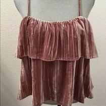 Madewell Blush Pink Mauve  Top New Nwt Large L Sleeveless Photo