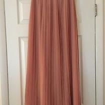Madewell Blush Pleated Maxi Skirt Photo