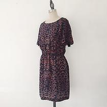 Madewell Broadway & Broome Silk Geometric Printed Mini Dress - 2  Photo