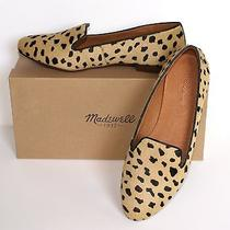 Madewell by J.crew Teddy Loafer in Calf Hair New Size 10 Truffle Black  Photo