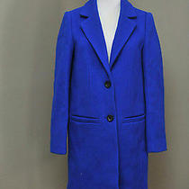 Madewell Car Coat S Blue 298 Photo