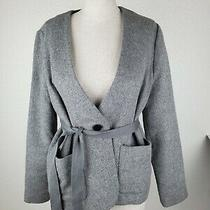 Madewell Carrington Blazer Gray Top Size S G0161 New Without Tags Photo