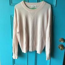 Madewell Cashmere Sweatshirt Sweater Womens Xl Pullover Pale Pink Soft  Photo