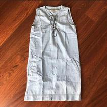 Madewell Chambray Blue Denim Sleeveless Dress Size Xxs Photo