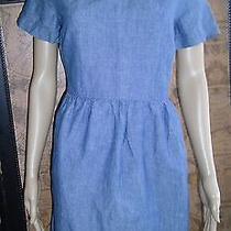 Madewell Chambray Songbird Dress Blue Size 8  Gently Worn Photo