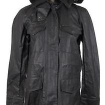 Madewell Coated Roadtrip Jacket in Black Coal Size S Item A9951 138 Photo