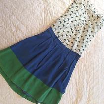 Madewell Color Block Skirt Photo