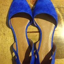 Madewell d'orsay Flats Blue Shoe Size 7 Photo