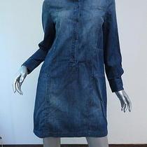 Madewell Denim Downshift Shirtdress Size Medium 128 Gently Worn Photo