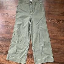 Madewell Emmett Wide Leg Crop Pants Size 26 Photo