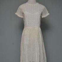 Madewell Eyelet Hideaway Dress Pure White 2 169 Photo