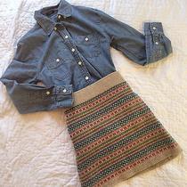 Madewell Fairisle Sweater Skirt Photo