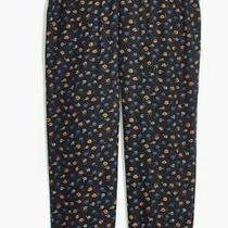 Madewell Floral Pants Sz Medium Track Trousers Prairie Posies Pajama Slacks Nwt Photo