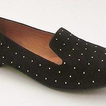 Madewell for J Crew the Goldshine Teddy Loafer - Size 6 -  Black Photo