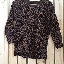 Madewell Giraffe Print Sweatshirt Photo