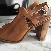 Madewell Heeled Mules Size 8 Photo