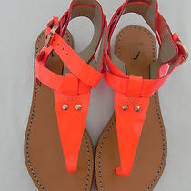 Madewell J Crew Belle by Sigerson Morrison Randy Neon Sandals  sz.6 17588116  Photo