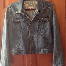 Madewell Jean Jacket Size Large  Photo