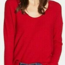 Madewell Kimball Red Sweater Size Small Merino Wool/alpaca Blend Photo