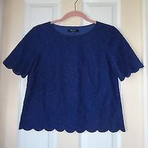 Madewell Lacebloom Top Blouse Xs / 2 Photo