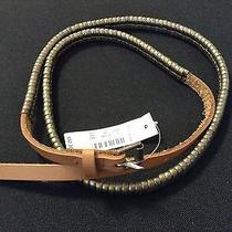 Madewell Leather Chain Link Belt Size Small S Nwt New 52 Photo