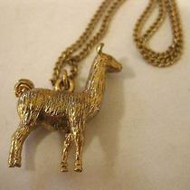Madewell Llama Love Necklace (Item 84266) Photo