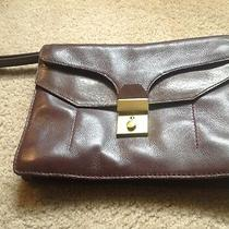 Madewell Mulberry Clutch Leather Purse Wallet Handbag Nice Photo