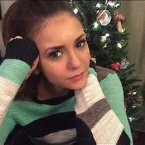 Madewell Multistripe Colorlane Pullover S Nina Dobrev Photo